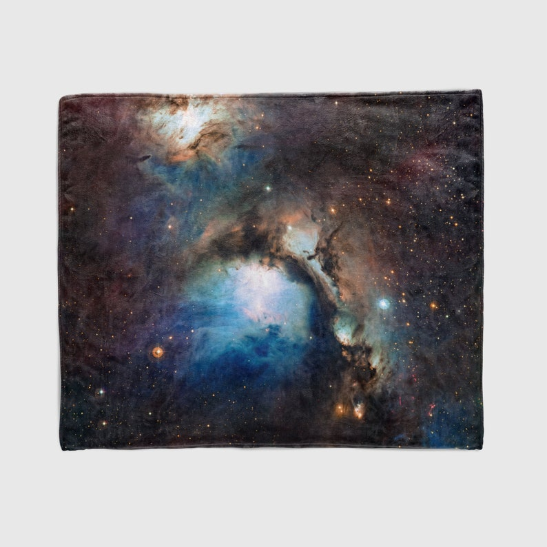 Nebula Throw Blanket Outer Space Decor Home Decor image 0