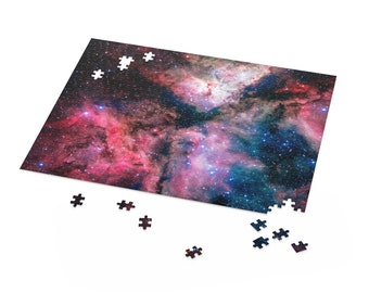 Carina Nebula Puzzle | Space Puzzle | Star Puzzle | Jigsaw Puzzle For Adults and Kids | 500, 252, 120 Piece Puzzle Box | Nasa Puzzle