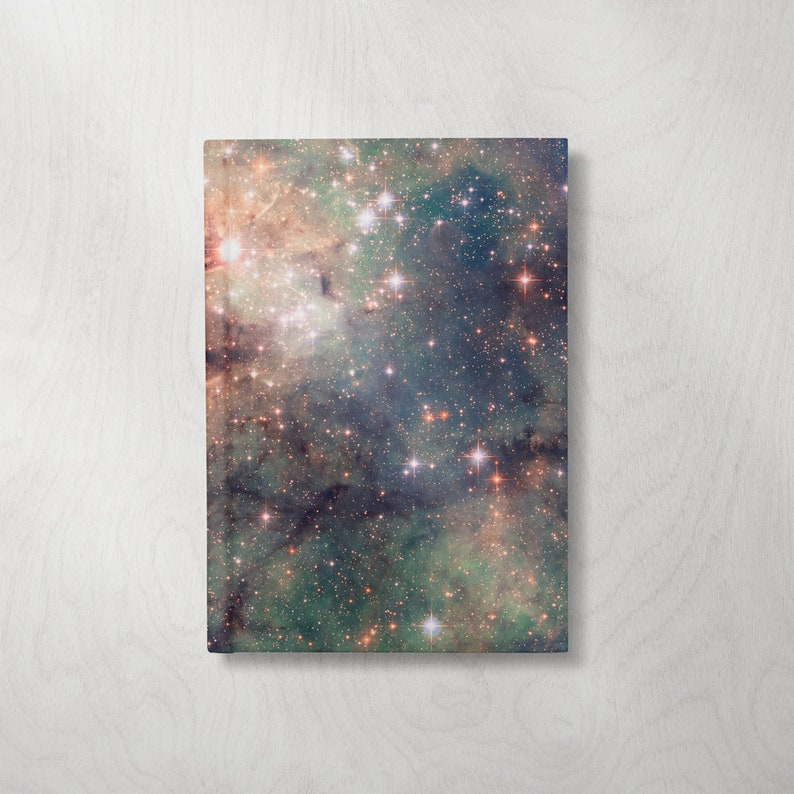 Space Notebook  Space Journal  Hardcover Journal  Hardcover image 0