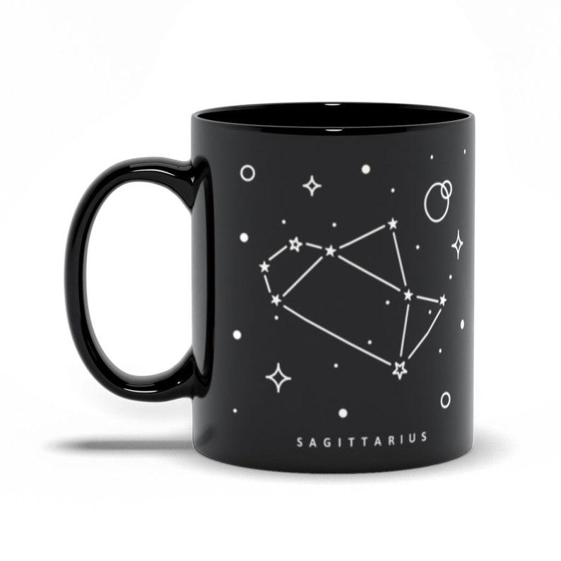 Sagittarius Constellation Mug Astrological Sign Mug 11 Fluid ounces