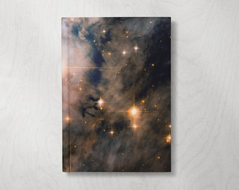Galaxy Writing Notebook | Cool Notebook | Hardcover Journal Notebook | Writing Journal | Galaxy Journal | Lined Pages