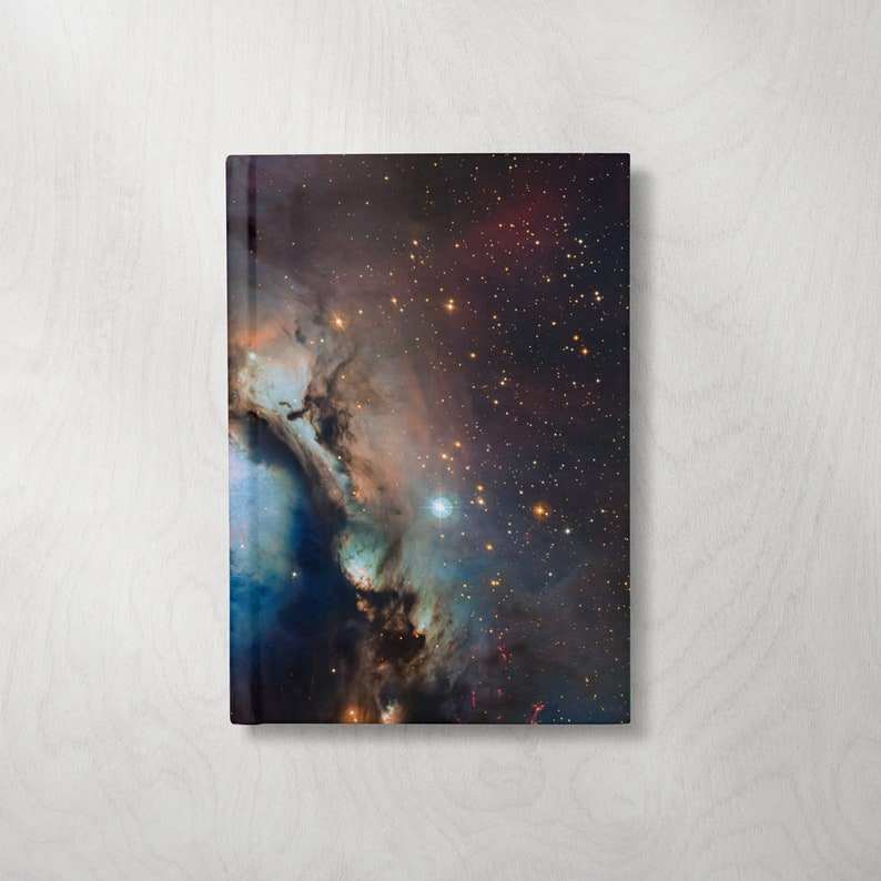 Space Journal  Space Notebook  Hardcover Journal  Hardcover image 0