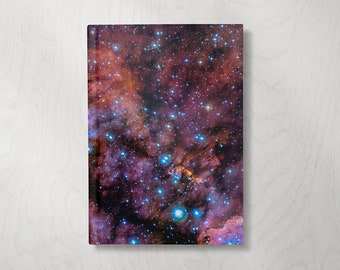 Galaxy Journal | Galaxy Notebook | Hardcover Journal Notebook | Astronomy Gifts Celestial | Lined Notebook | Lined pages | Outer Space Gift