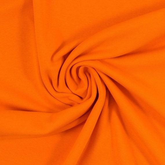 Cuff orange, 100 cm wide, 0,25m  per piece