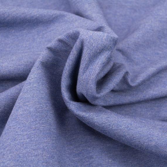 Sweat jeans blue mottled, 0,27 yards per piece