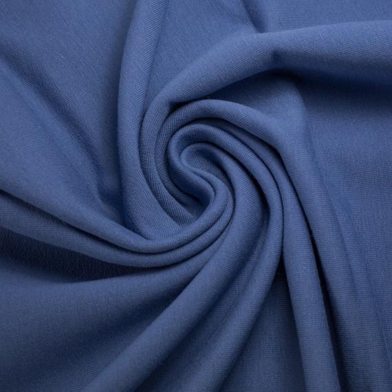 Cuff smokey blue, 100 cm wide, 0,25m  per piece