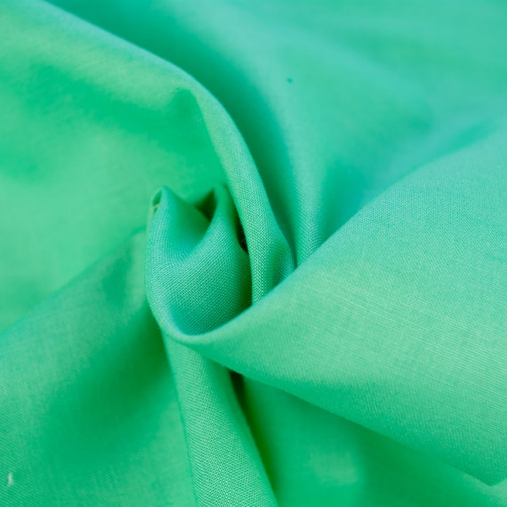 100% cotton plain mint green, 25cm / 0,27 yards per piece
