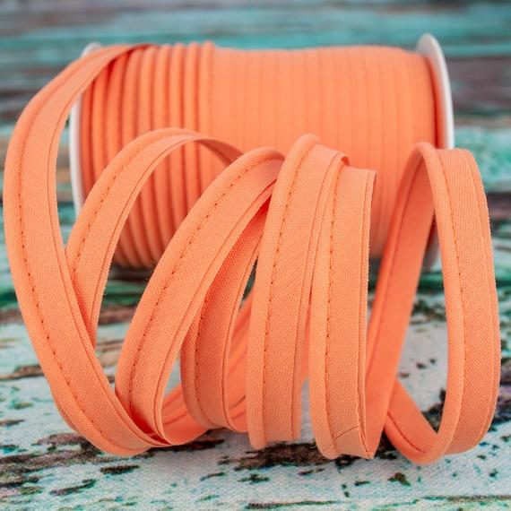 Piping stripe peach, 1,09 yards / 1m  per piece