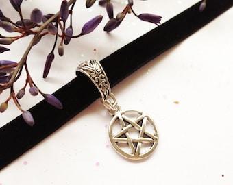 Pentagram Black Velvet Choker