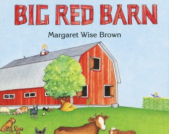 BIG RED BARN By Margaret Wise Brown - New Condition Board Book - Delightful Classic Gift for Children 3+ years old!