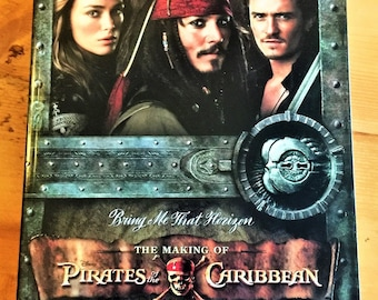 Bring Me That Horizon Disney The MAKING of the PIRATES Of The CARIBBEAN Mint Condition Book