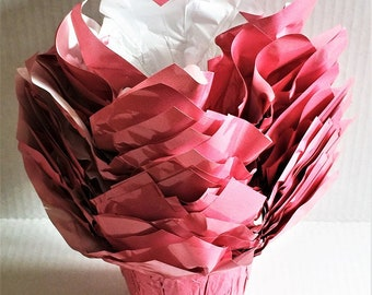 Flower pot cover etsy 25 flower pot wrappers kwik covers 45 pink dress up ur pots plant sellers look perfect for mothers day breast cancer awareness events mightylinksfo