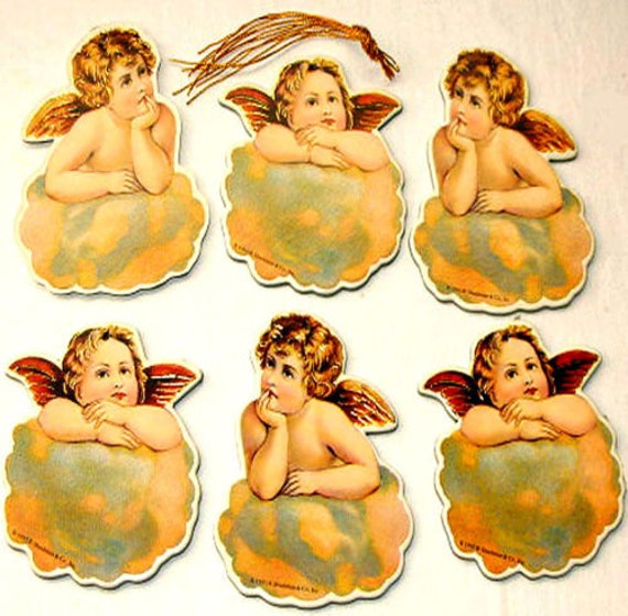 VICTORIAN BABY TODDLER SEALS Stickers MINT//Factory Sealed Shackman Pkg of 15