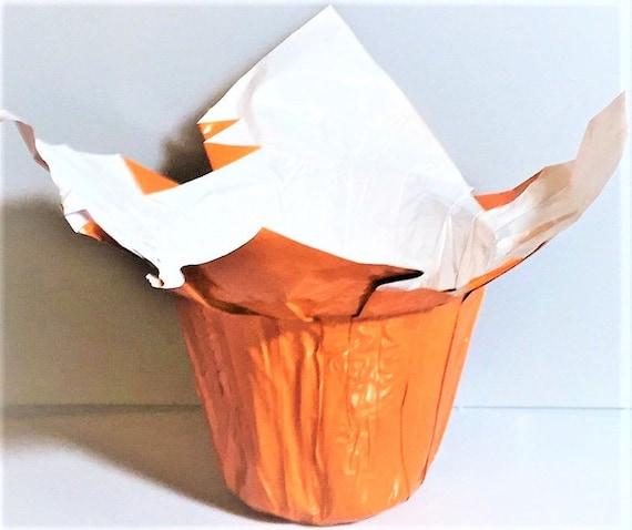 25 flower pot wrappers kwik covers halloween fall orange etsy image 0 mightylinksfo