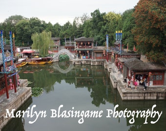 Beijing Travel Photography, Summer Palace Photo Print, Multiple Sizes Available. Fine Art Photography Wall Art Home Decor