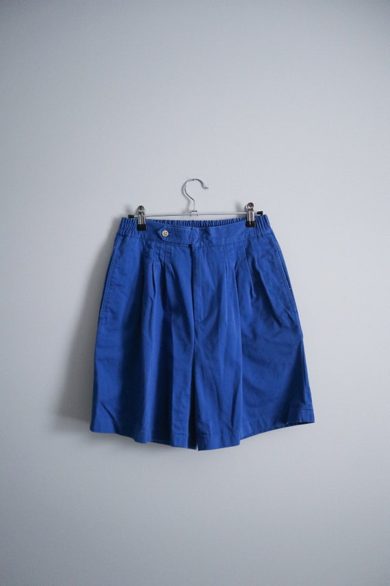 vintage nordstrom high waisted chino mom shorts