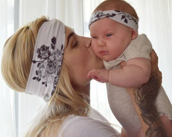 Mommy & Me Turban Style Headband Set