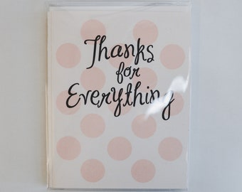 Thank You Cards -- Set of 8