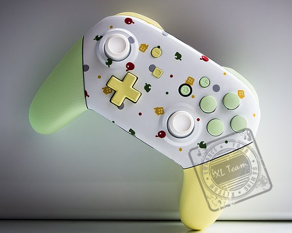 Custom Animal Crossing Themed Nintendo Switch Pro Controller Etsy