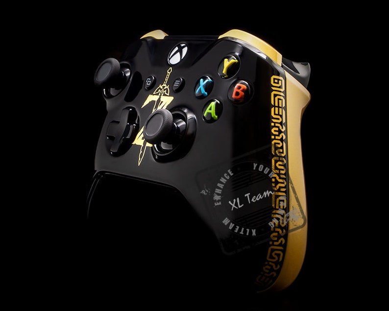 Custom The Legend of Zelda Breath of the Wild Themed Xbox One S Controller