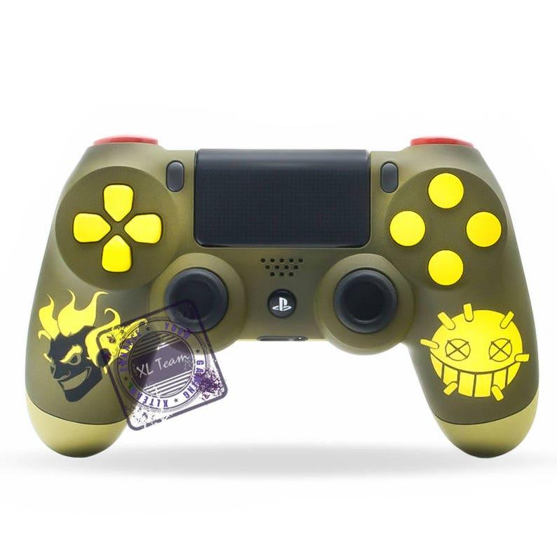 Custom PlayStation 4 PS4 DualShock 4 Controller Overwatch Junkrat