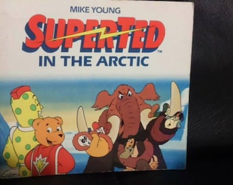 Vintage SUPERTED In the Arctic Book