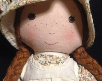 "Vintage 1970s Knickerbockers HOLLY HOBBIE ""Heather"" Doll!!"