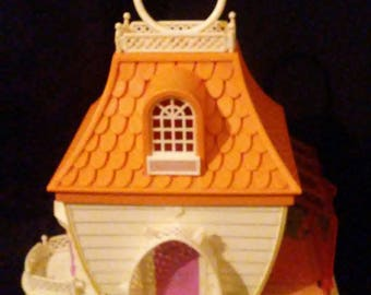 Vintage 1980's Hasbro CHARMKINS Jewelry House and Furniture!!!!