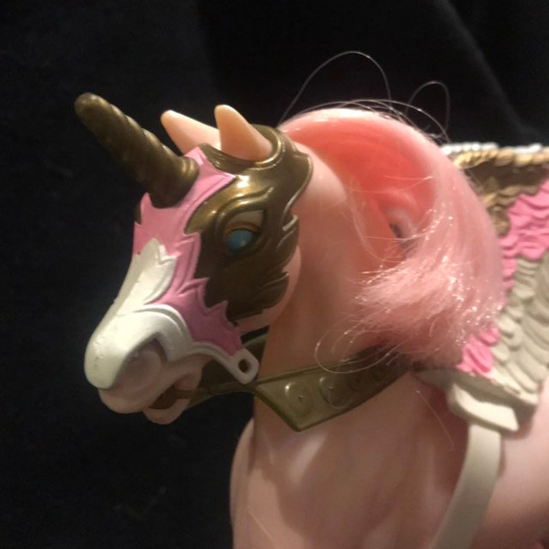 Vintage 1980s MOTU She-Ra Swift Wind Horse and Doll!! Nice Find!