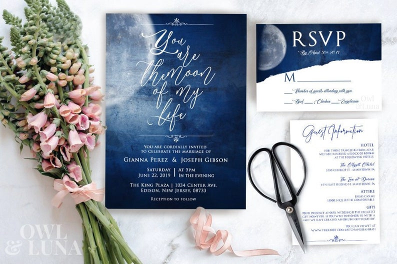 Moon of my life | Game of Thrones Inspired Wedding Invitation Card | Baby  Shower Invite | Add Wedding Suite, Rsvp & Details Card