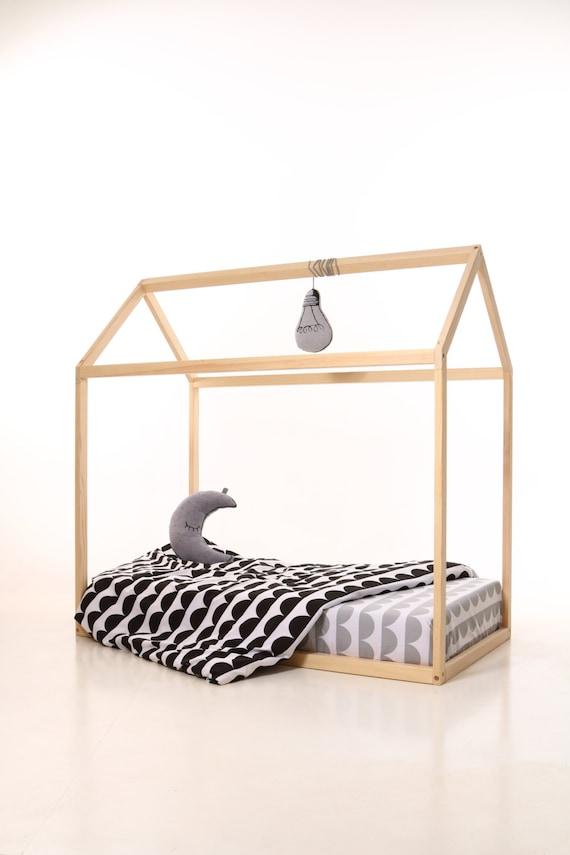 Kinder Kinderzimmer Bett Holzhaus. Kinder-Bett-Haus. Holz | Etsy
