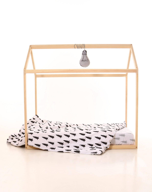 Benutzerdefinierte Bett 120 x 200 cm Lamellen Farbe grau   Etsy