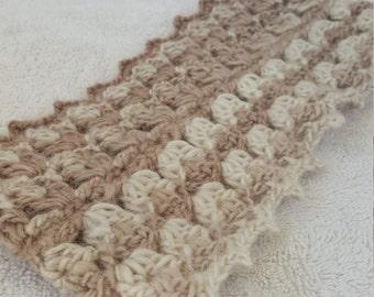 Oatmeal/Beige Knitted Headband HeadWrap Ear Warmer - Winter Accessories