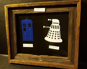 Dr. Who Decal
