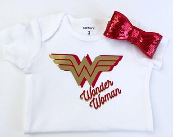 Wonder Woman Onesie, superhero
