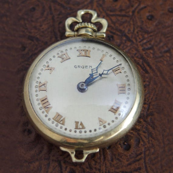 Montre Pendentif Or 14 Carats Suisse Jewelry & Watches