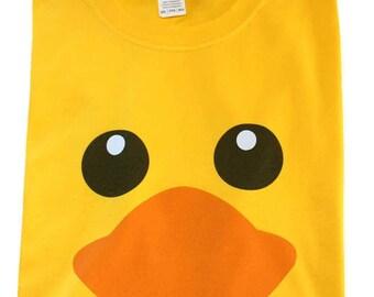 194ad4ac77ce Rubber Duck Funny 100% Cotton Unisex Men Yellow T Shirt