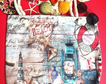 Cotton bag beach bag