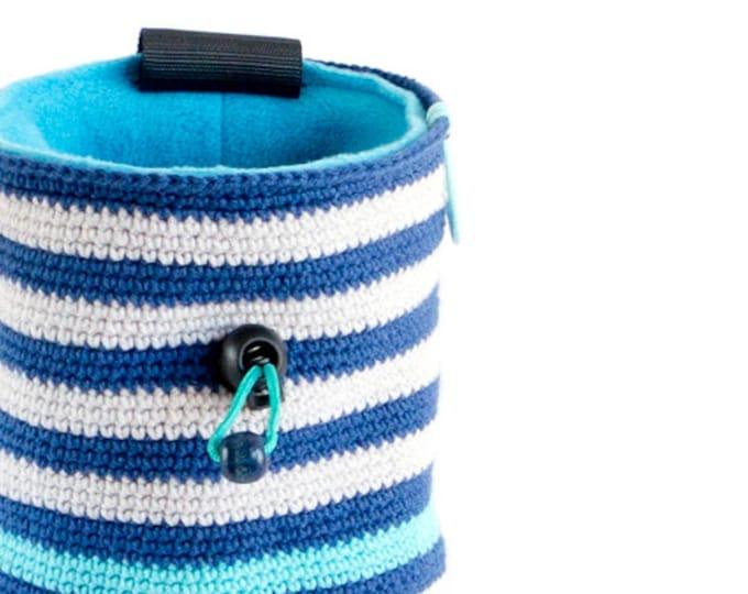Unique Handmade Chalk Bag. Chalk Bag and Belt. Rock Climbing Gear - Handmade Chalkbag, M Size