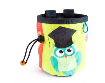 Rock Climbing Party Chalk Bag. Gift For Climbers - Climbing Gear. Climbing Chalk  Bag, M Size