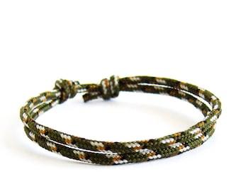 Husband Bracelet For Men, An Ideal Husband Gift, Husband Jewelry Gift - Simple Rope Bracelet