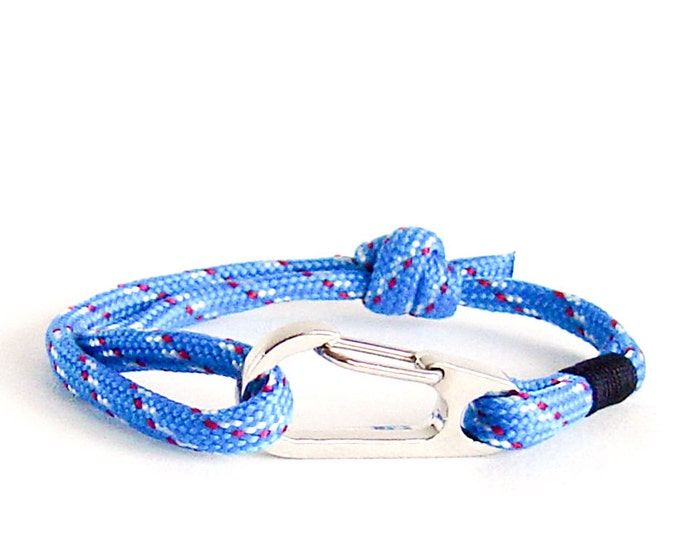 Mens Bracelet, Personalised Bracelet, Groomsmen Gift Ideas Rope Bracelet