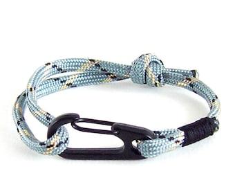 Climbing Rope Bracelet, Rock Climbing Gifts, Climbing Bracelet, Bracelet Men