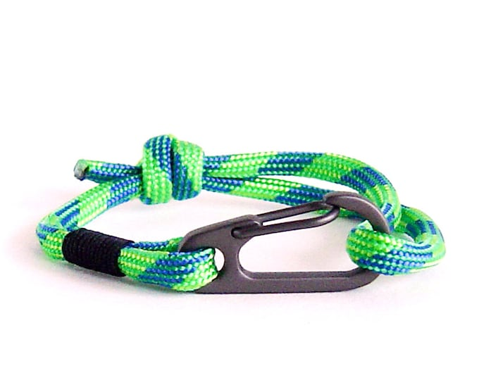 Men Jewelry, Gifts For Climbers, Sailor Knot Bracelet, Yoga Bracelet
