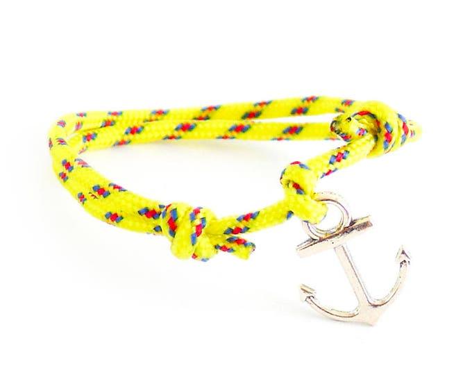 Mens Accessories, Accessories For Men, Guys Bracelet, Mens Anchor Bracelet. 2 mm