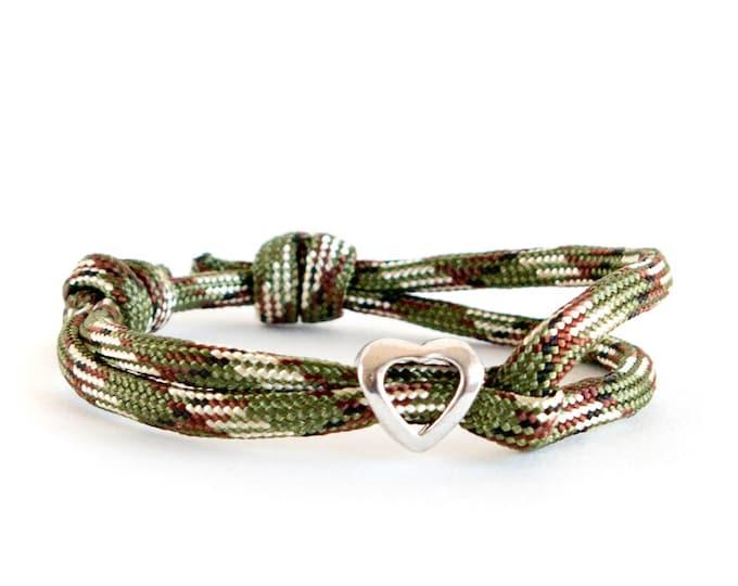 Valentines Gift For Him, Love You More Bracelet, Husband Bracelet, Valentine Jewelry. 4 mm
