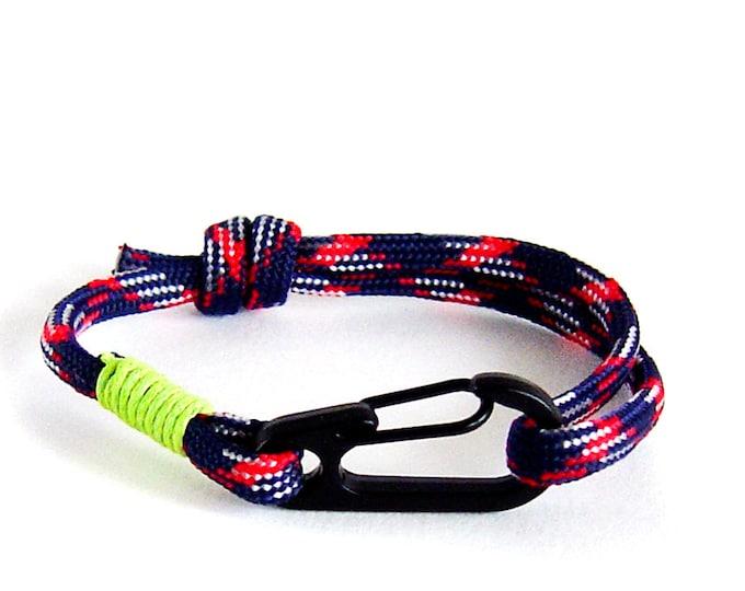 Climber Bracelet, Anchor Bracelet, Climbing Rope Bracelet, Rock Climbing Jewelry