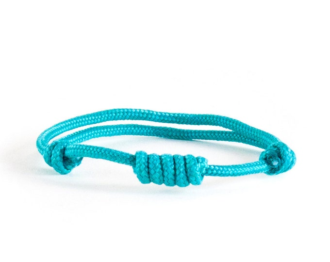 Friendship Bracelet. Woven Bracelet. Climbing Rope Bracelet. Rock Climbing Jewelry - Men's Climber (Sailor) Knot Jewelry