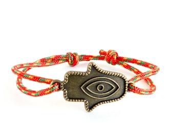 Hand Bracelet, Hamsa Bracelet, Hand Of Fatima Bracelet, Hamsa Hand Jewellery. 2 mm