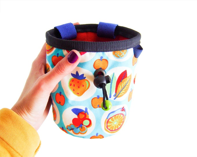 Top Chalk Bags, Chalk Bag Or Bucket, Chalk Bag With Toothbrush Holder M size